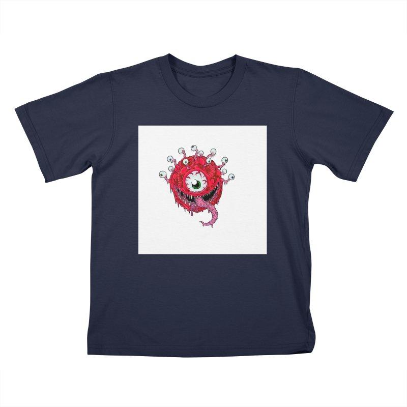 eye ball Kids T-Shirt by allandotson's Artist Shop