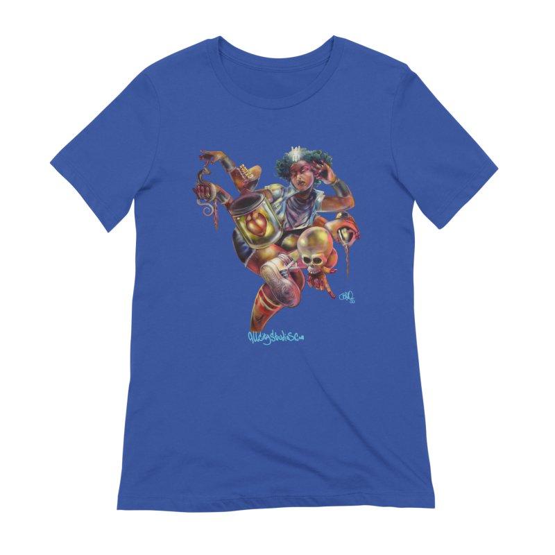 Bruja #1 Women's Extra Soft T-Shirt by All City Emporium's Artist Shop