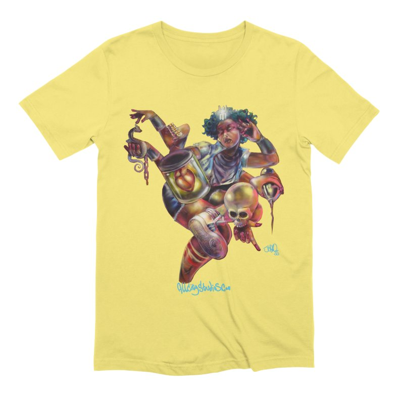 Bruja #1 Men's Extra Soft T-Shirt by All City Emporium's Artist Shop
