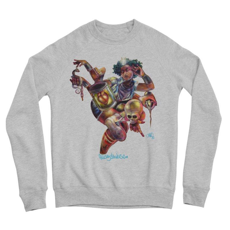 Bruja #1 Men's Sponge Fleece Sweatshirt by All City Emporium's Artist Shop