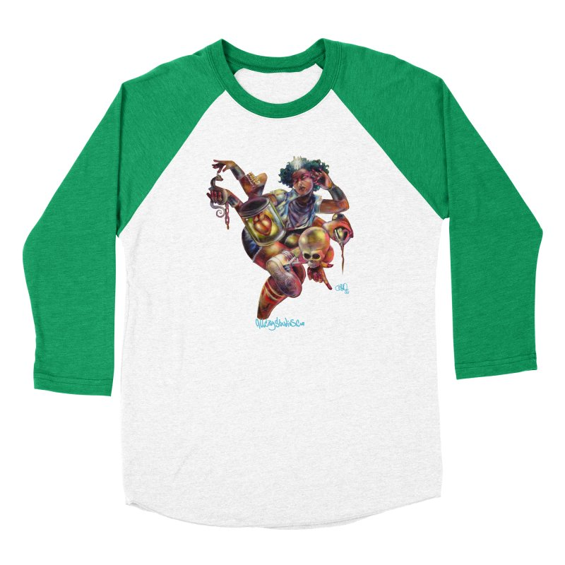 Bruja #1 Men's Baseball Triblend Longsleeve T-Shirt by All City Emporium's Artist Shop