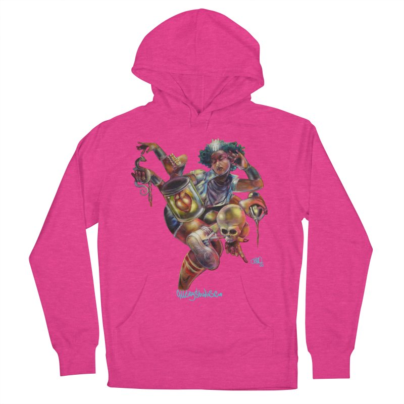 Bruja #1 Women's French Terry Pullover Hoody by All City Emporium's Artist Shop