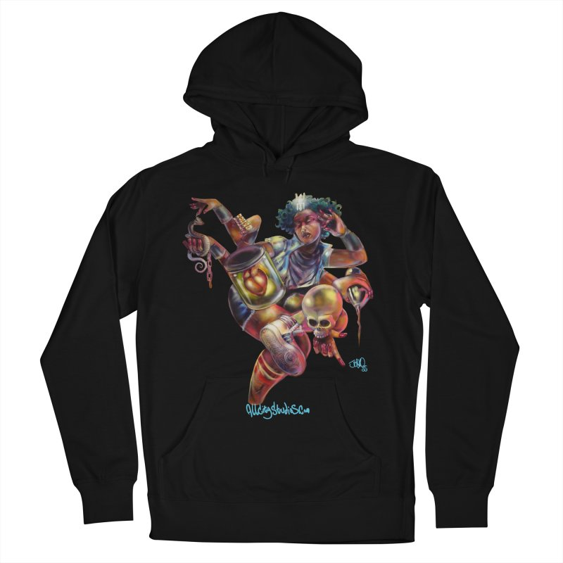 Bruja #1 Men's French Terry Pullover Hoody by All City Emporium's Artist Shop