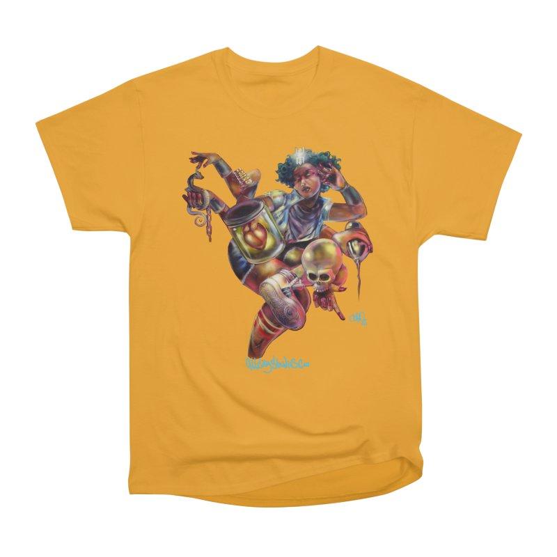 Bruja #1 Women's Heavyweight Unisex T-Shirt by All City Emporium's Artist Shop