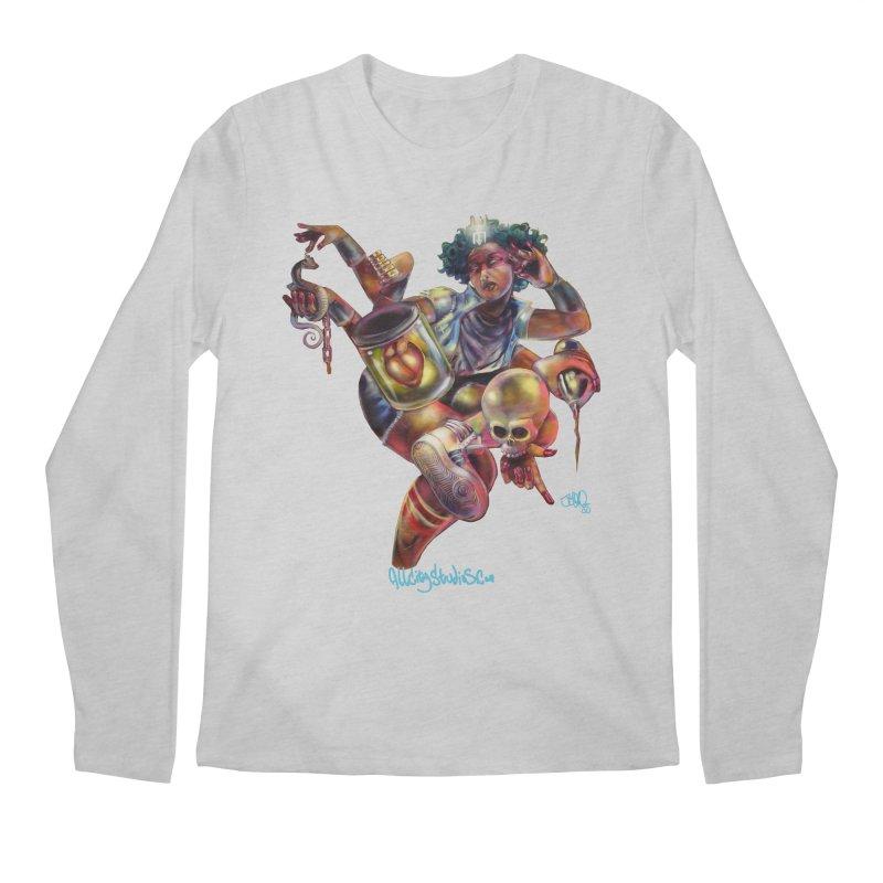 Bruja #1 Men's Regular Longsleeve T-Shirt by All City Emporium's Artist Shop