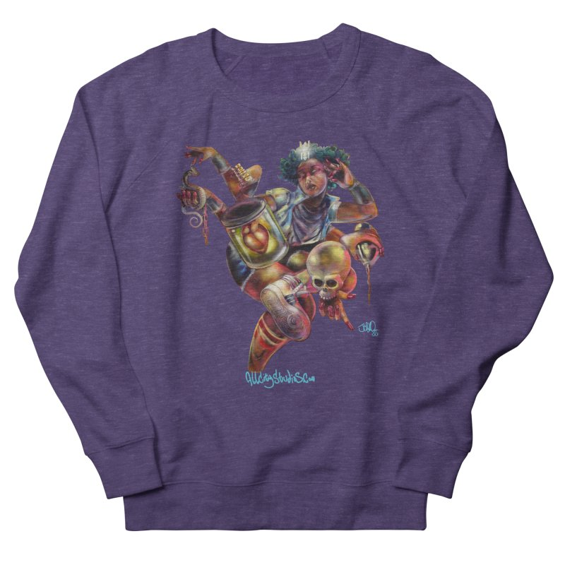 Bruja #1 Women's French Terry Sweatshirt by All City Emporium's Artist Shop