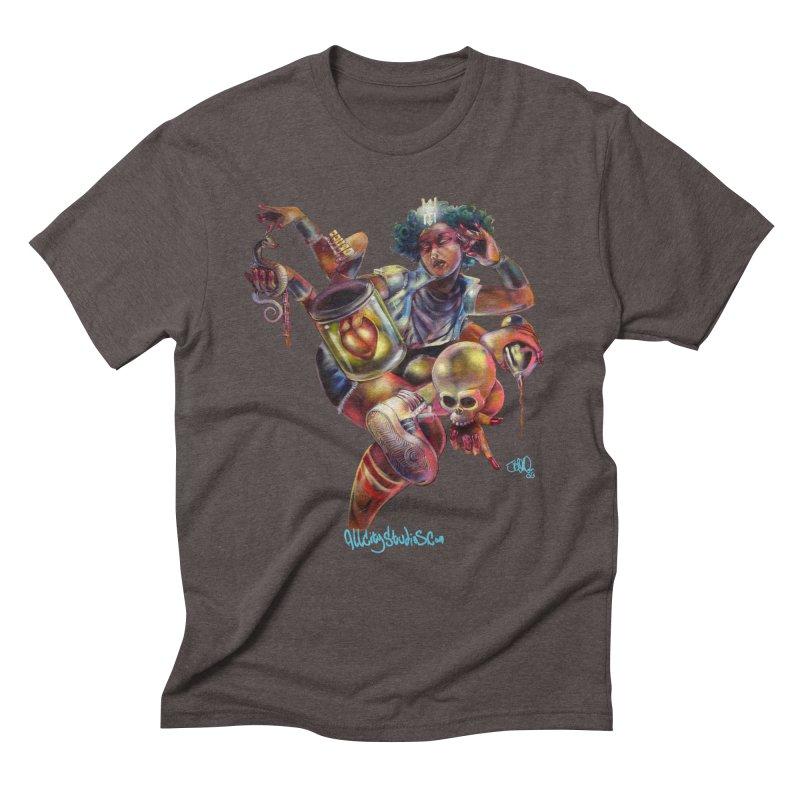 Bruja #1 Men's Triblend T-Shirt by All City Emporium's Artist Shop