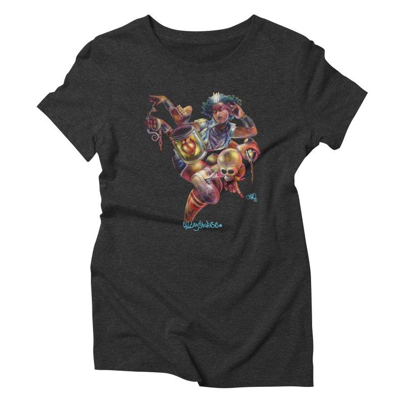 Bruja #1 Women's Triblend T-Shirt by All City Emporium's Artist Shop