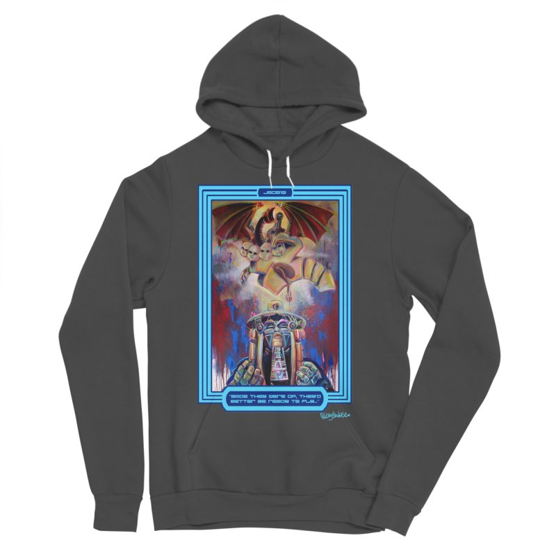 """""""Once they were up...."""" Women's Sponge Fleece Pullover Hoody by All City Emporium's Artist Shop"""