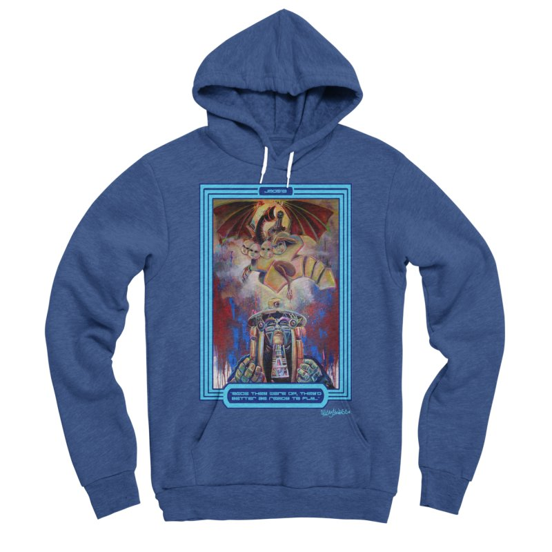 """""""Once they were up...."""" Men's Sponge Fleece Pullover Hoody by All City Emporium's Artist Shop"""