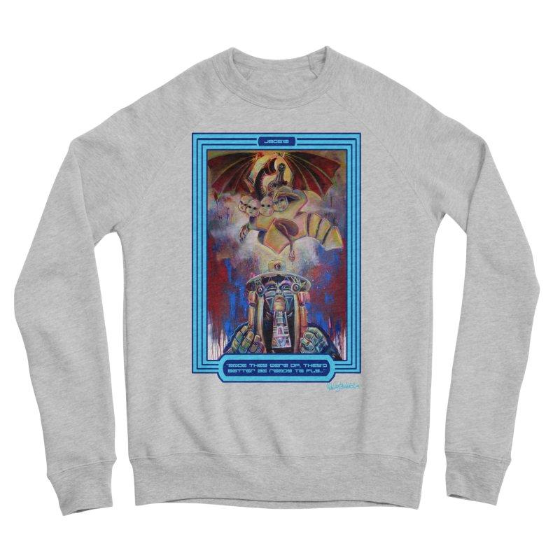 """""""Once they were up...."""" Men's Sponge Fleece Sweatshirt by All City Emporium's Artist Shop"""