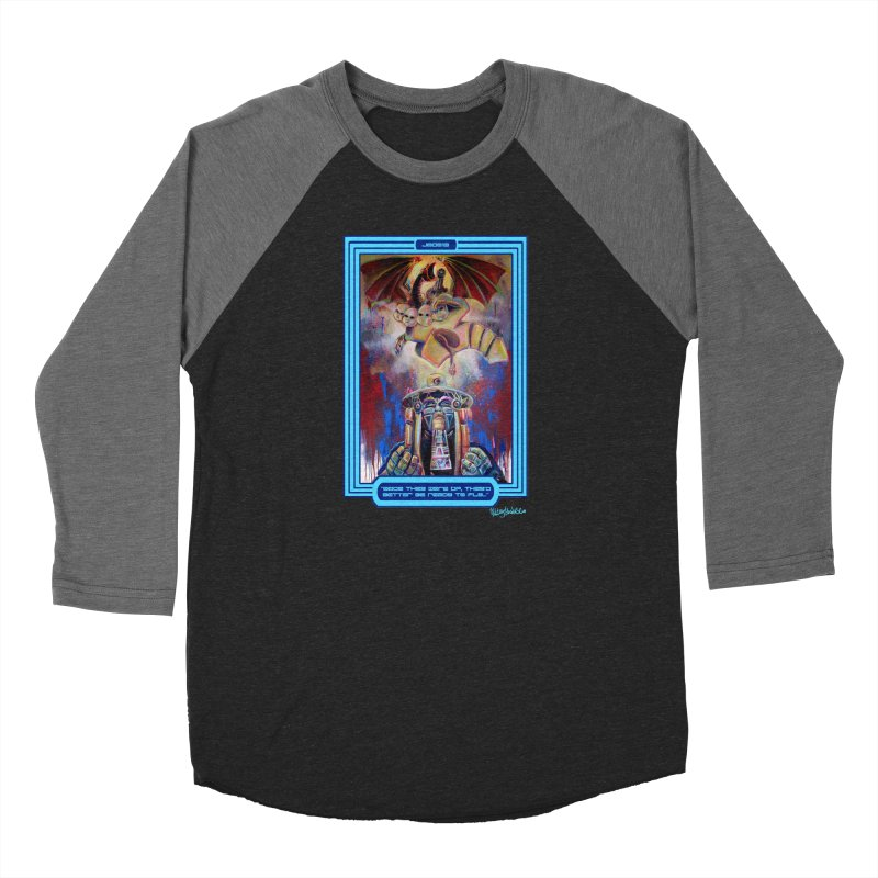 """""""Once they were up...."""" Men's Baseball Triblend Longsleeve T-Shirt by All City Emporium's Artist Shop"""