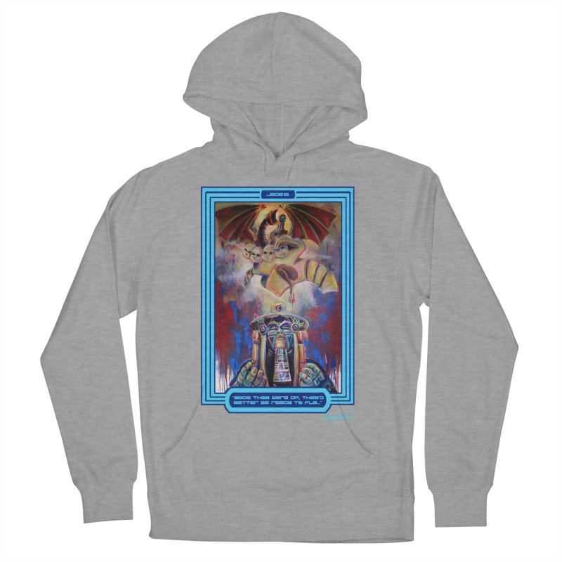 """""""Once they were up...."""" Women's French Terry Pullover Hoody by All City Emporium's Artist Shop"""