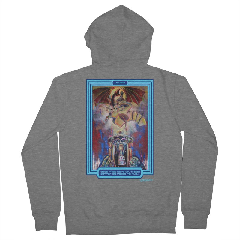"""Once they were up...."" Women's French Terry Zip-Up Hoody by All City Emporium's Artist Shop"