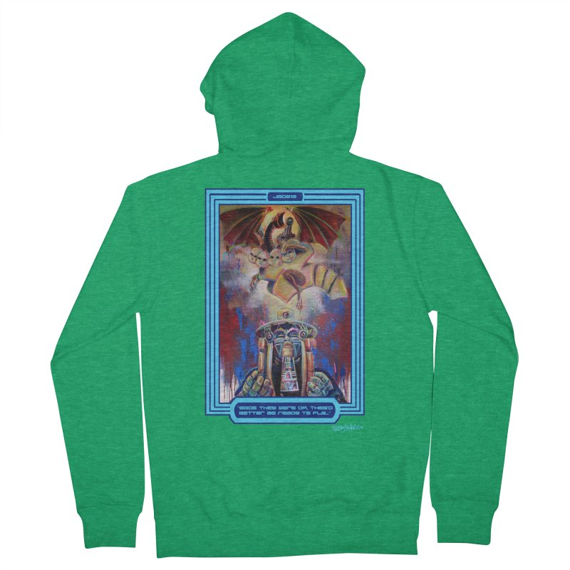 """""""Once they were up...."""" Men's Zip-Up Hoody by All City Emporium's Artist Shop"""