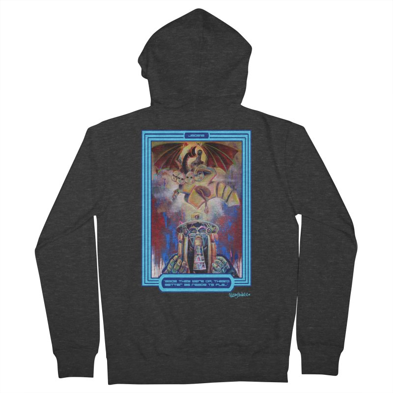 """""""Once they were up...."""" Men's French Terry Zip-Up Hoody by All City Emporium's Artist Shop"""