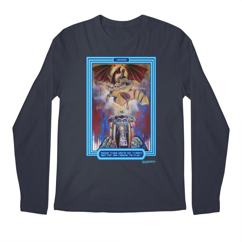 """Once they were up...."" Men's Regular Longsleeve T-Shirt by All City Emporium's Artist Shop"