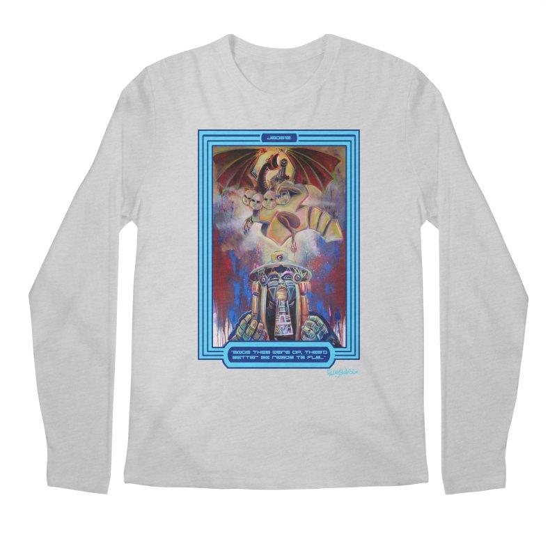 """Once they were up...."" Men's Regular Longsleeve T-Shirt by All City Emporium's Artist Shop"
