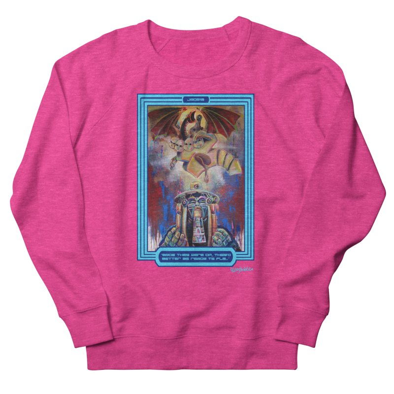"""""""Once they were up...."""" Women's French Terry Sweatshirt by All City Emporium's Artist Shop"""
