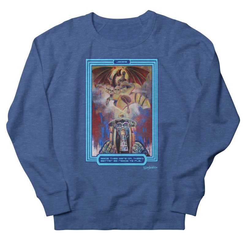 """Once they were up...."" Men's French Terry Sweatshirt by All City Emporium's Artist Shop"