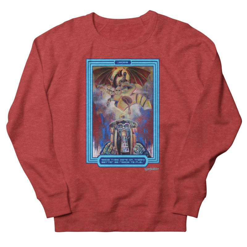 """""""Once they were up...."""" Men's French Terry Sweatshirt by All City Emporium's Artist Shop"""