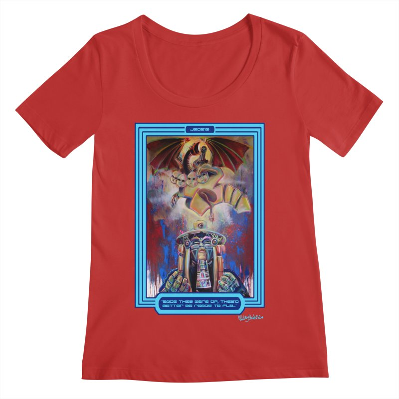 """""""Once they were up...."""" Women's Regular Scoop Neck by All City Emporium's Artist Shop"""