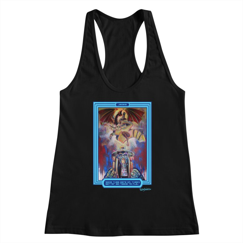 """Once they were up...."" Women's Racerback Tank by All City Emporium's Artist Shop"