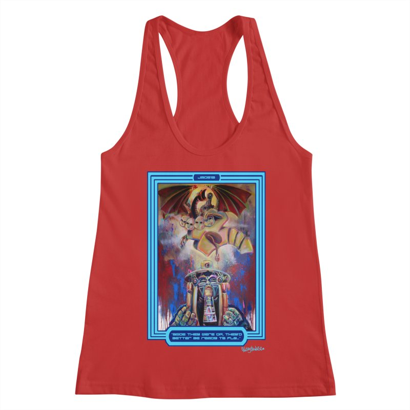 """""""Once they were up...."""" Women's Racerback Tank by All City Emporium's Artist Shop"""