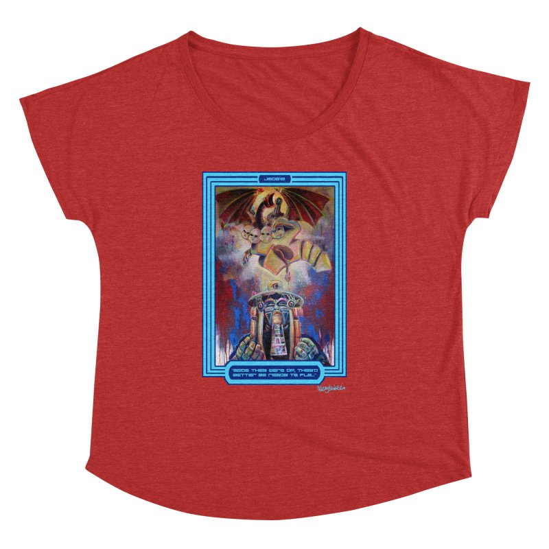 """""""Once they were up...."""" Women's Dolman Scoop Neck by All City Emporium's Artist Shop"""