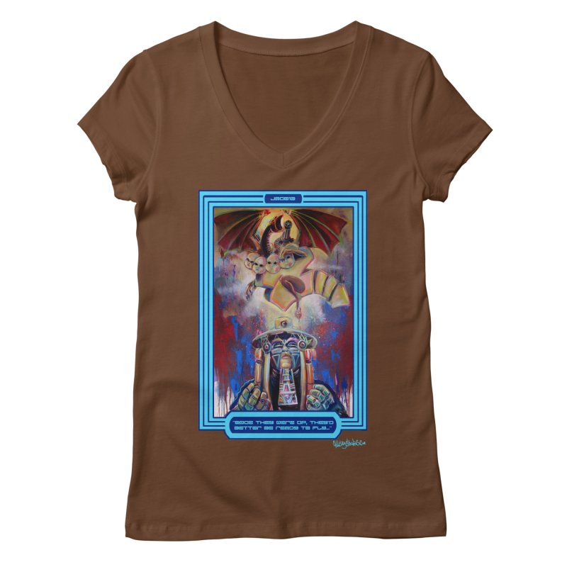 """""""Once they were up...."""" Women's Regular V-Neck by All City Emporium's Artist Shop"""