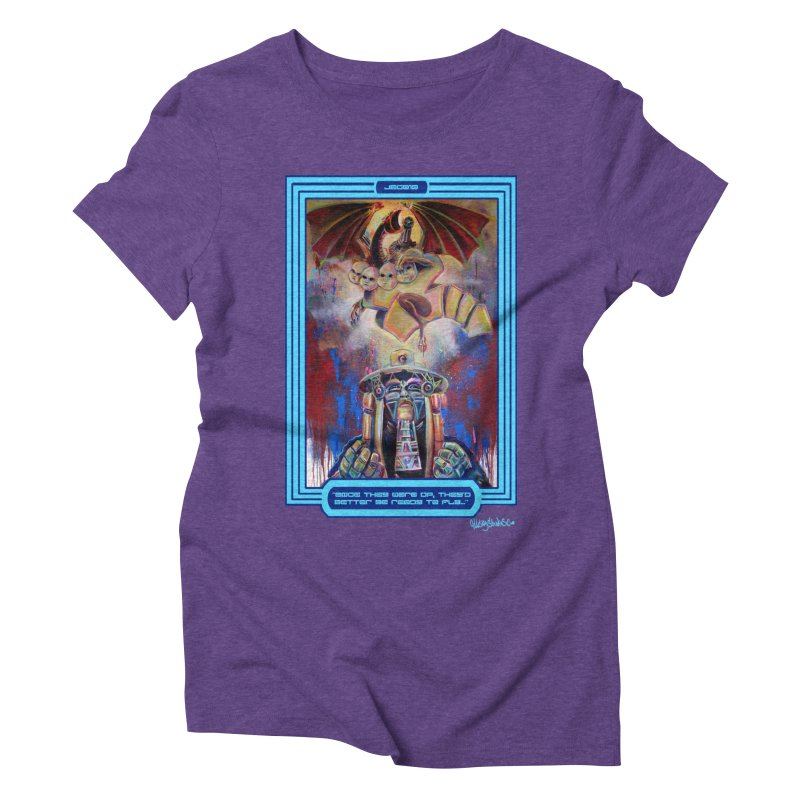 """""""Once they were up...."""" Women's Triblend T-Shirt by All City Emporium's Artist Shop"""