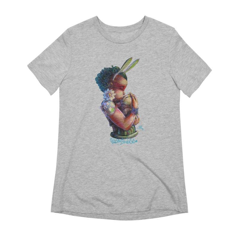 Hunneh Bunneh 3 Women's Extra Soft T-Shirt by All City Emporium's Artist Shop