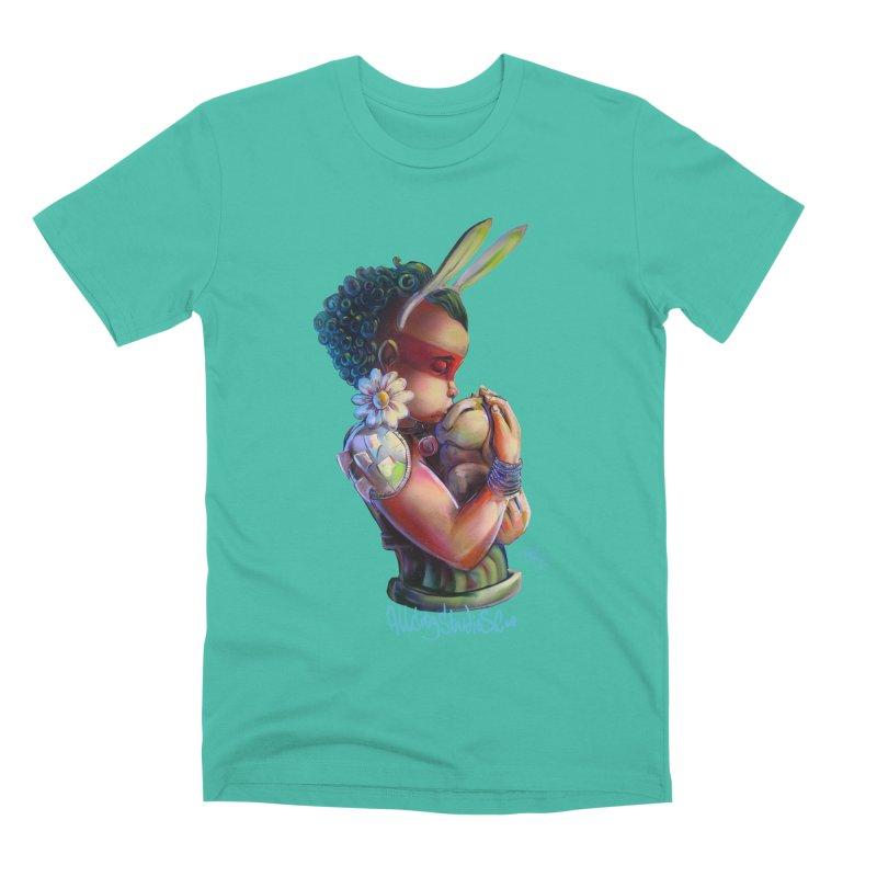 Hunneh Bunneh 3 Men's Premium T-Shirt by All City Emporium's Artist Shop