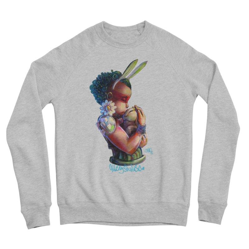 Hunneh Bunneh 3 Women's Sponge Fleece Sweatshirt by All City Emporium's Artist Shop