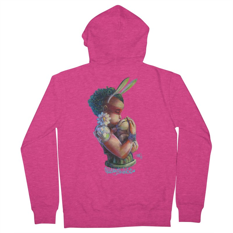 Hunneh Bunneh 3 Women's French Terry Zip-Up Hoody by All City Emporium's Artist Shop