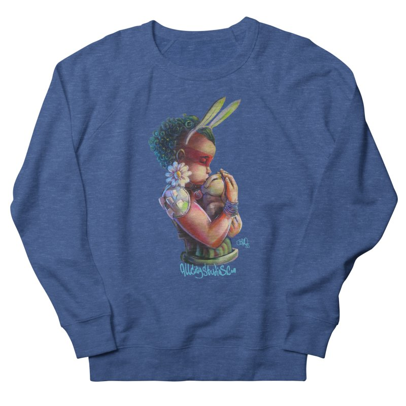 Hunneh Bunneh 3 Women's French Terry Sweatshirt by All City Emporium's Artist Shop