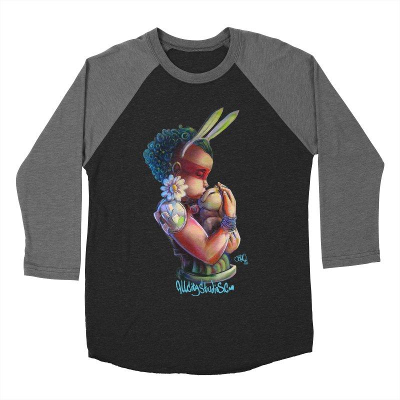 Hunneh Bunneh 3 Women's Baseball Triblend Longsleeve T-Shirt by All City Emporium's Artist Shop