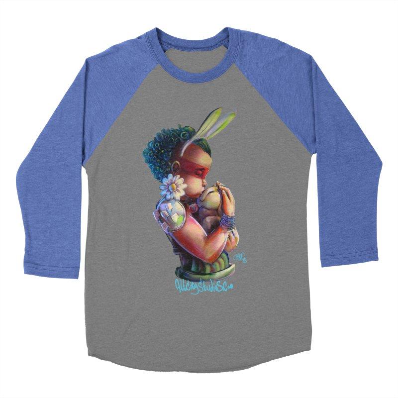 Hunneh Bunneh 3 Men's Baseball Triblend Longsleeve T-Shirt by All City Emporium's Artist Shop