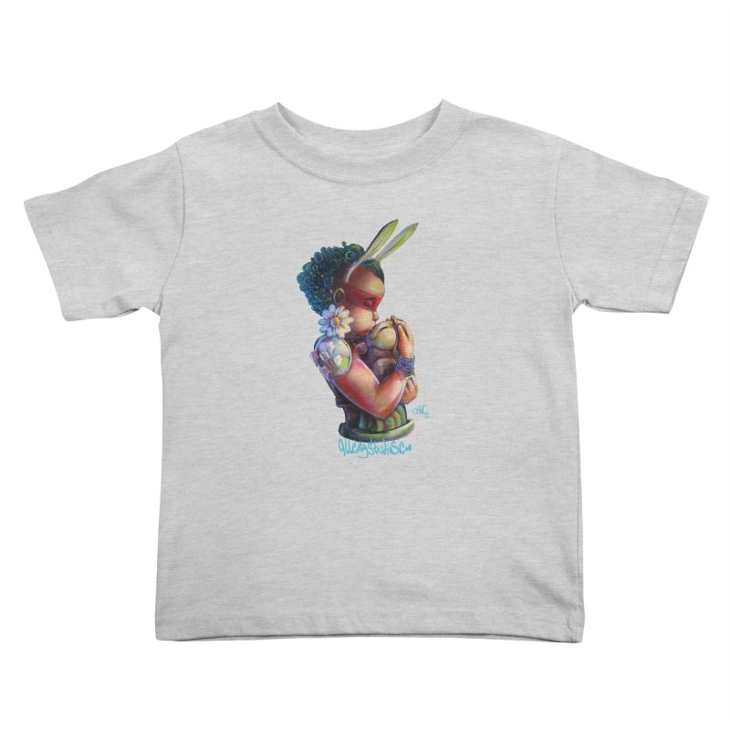 Hunneh Bunneh 3 Kids Toddler T-Shirt by All City Emporium's Artist Shop
