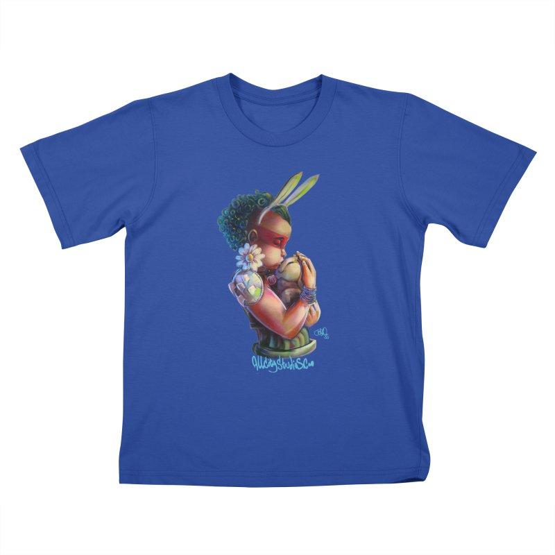 Hunneh Bunneh 3 Kids T-Shirt by All City Emporium's Artist Shop