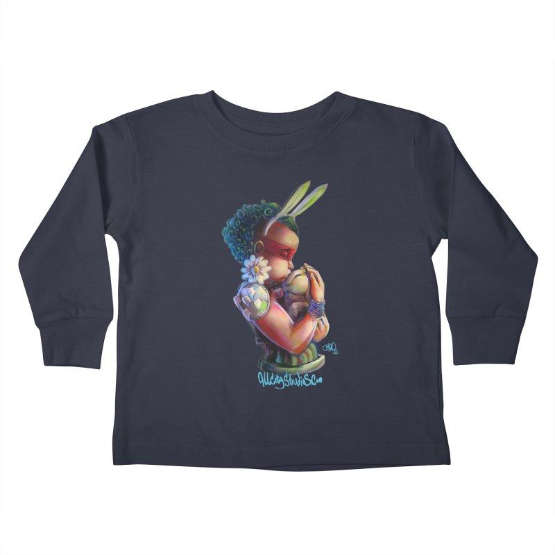 Hunneh Bunneh 3 Kids Toddler Longsleeve T-Shirt by All City Emporium's Artist Shop