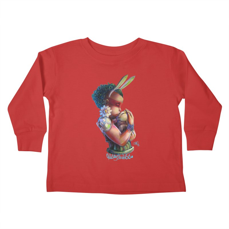 Hunneh Bunneh 3 Kids Toddler Longsleeve T-Shirt by All City Emporium's Artist Shop