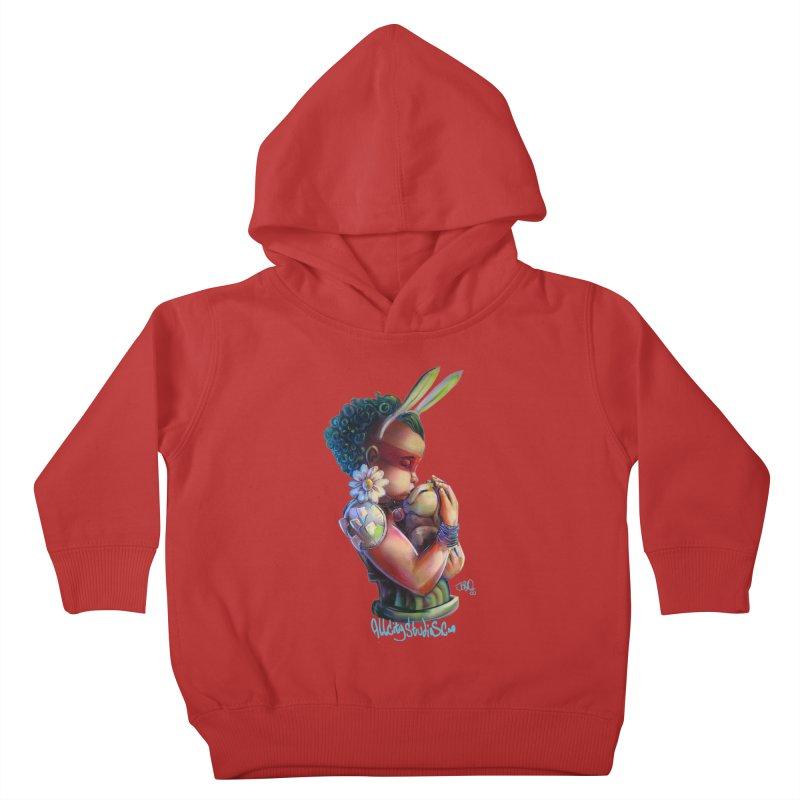 Hunneh Bunneh 3 Kids Toddler Pullover Hoody by All City Emporium's Artist Shop