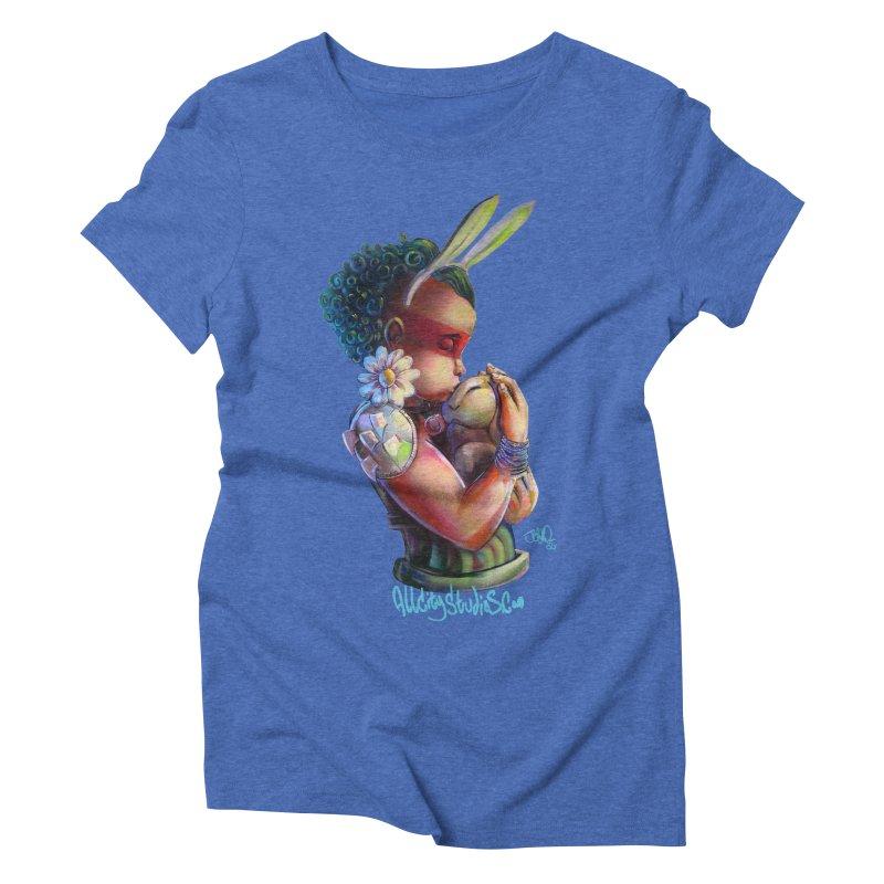 Hunneh Bunneh 3 Women's Triblend T-Shirt by All City Emporium's Artist Shop