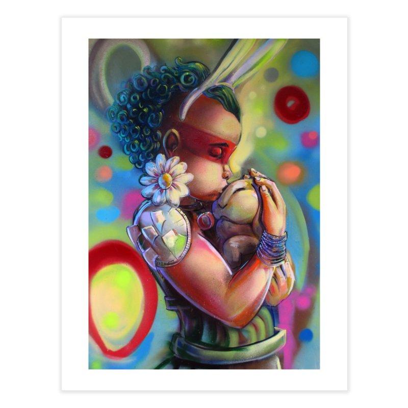 Hunneh bunneh 3 whole Home Fine Art Print by All City Emporium's Artist Shop