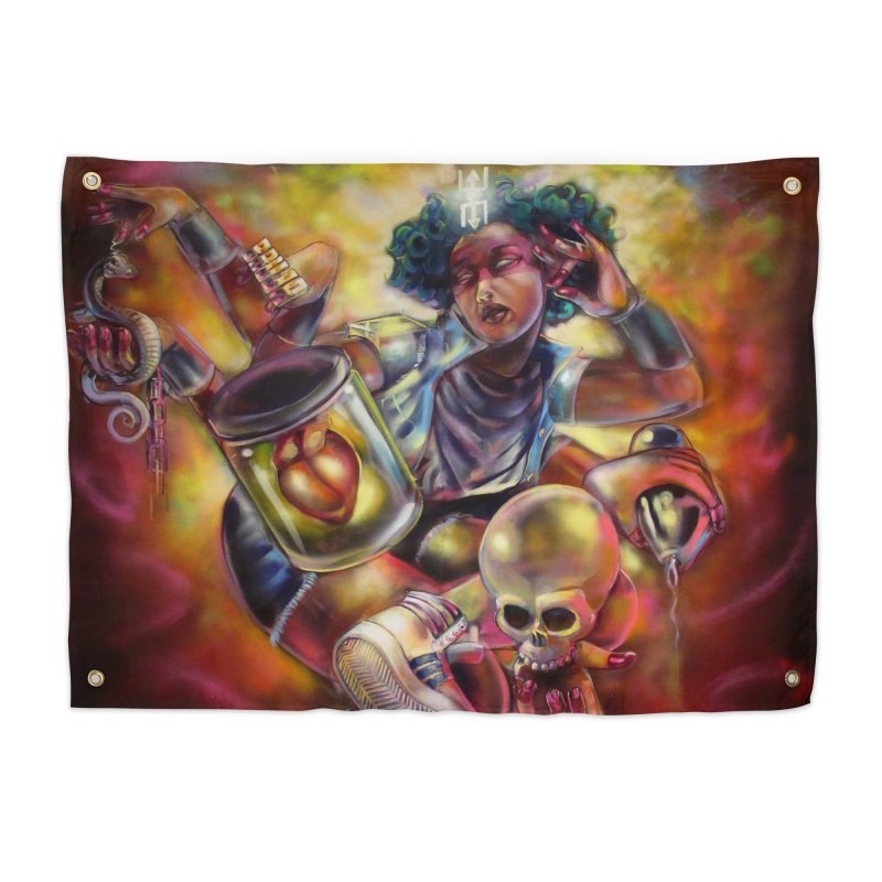 Bruja 1 whole Home Tapestry by All City Emporium's Artist Shop
