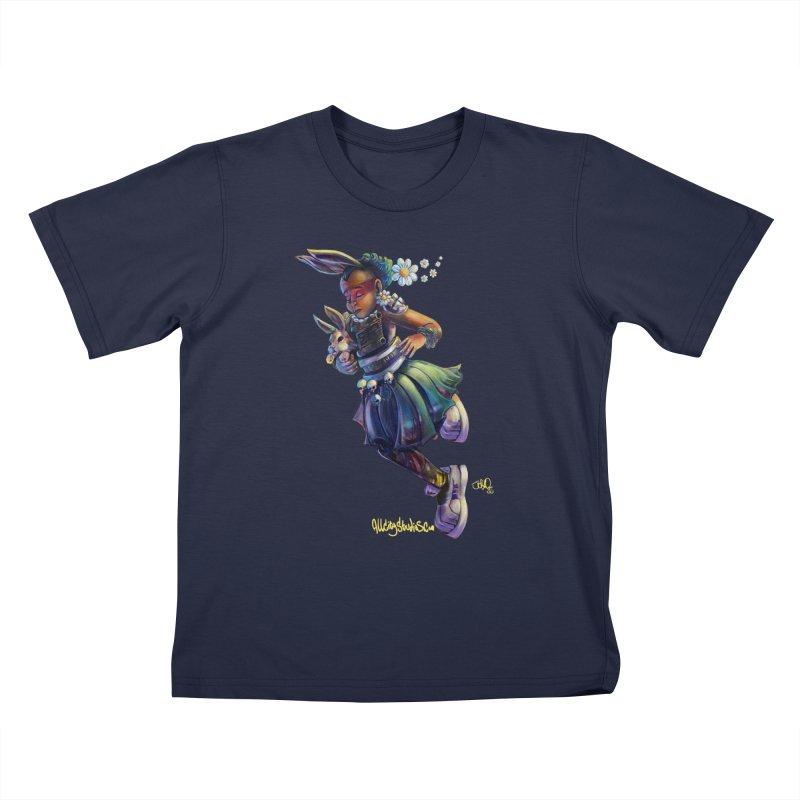 Hunneh Bunneh #4 Kids T-Shirt by All City Emporium's Artist Shop