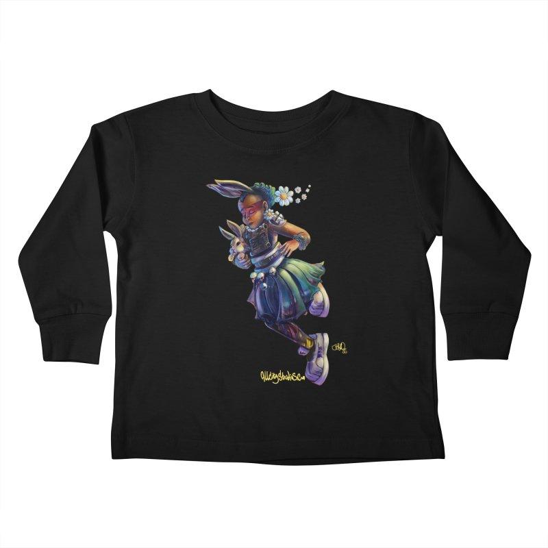 Hunneh Bunneh #4 Kids Toddler Longsleeve T-Shirt by All City Emporium's Artist Shop