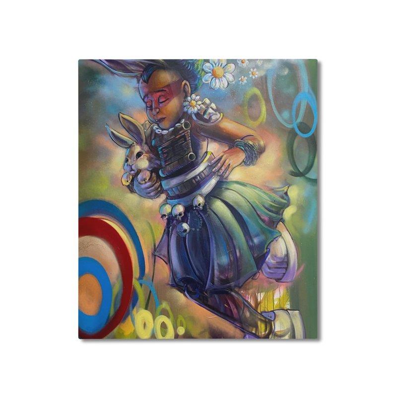 Hunneh Bunneh #4 (Full) Home Mounted Aluminum Print by All City Emporium's Artist Shop