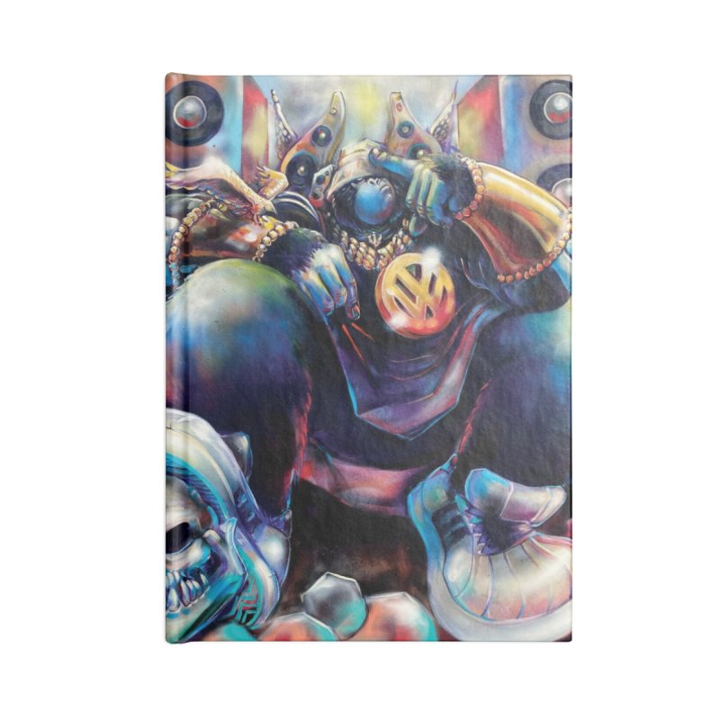 Still #1 (Full) Accessories Notebook by All City Emporium's Artist Shop